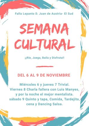 2020 cartel programa semana cultural